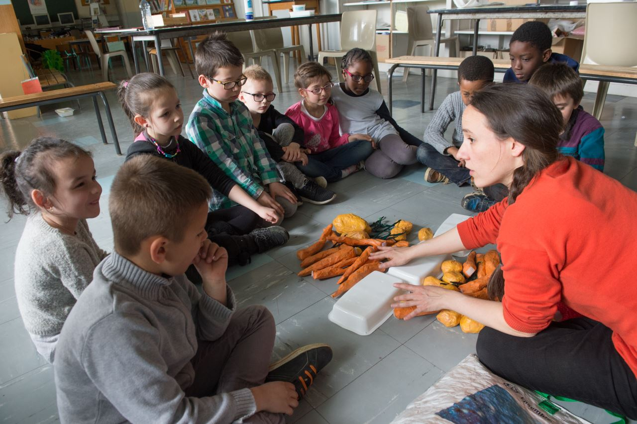Animation scolaire gaspillage alimentaire